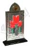 تندیس اولین یادواره دانشجویان شهید مدافع حرم - دانشگاه پیام نور نجف آباد